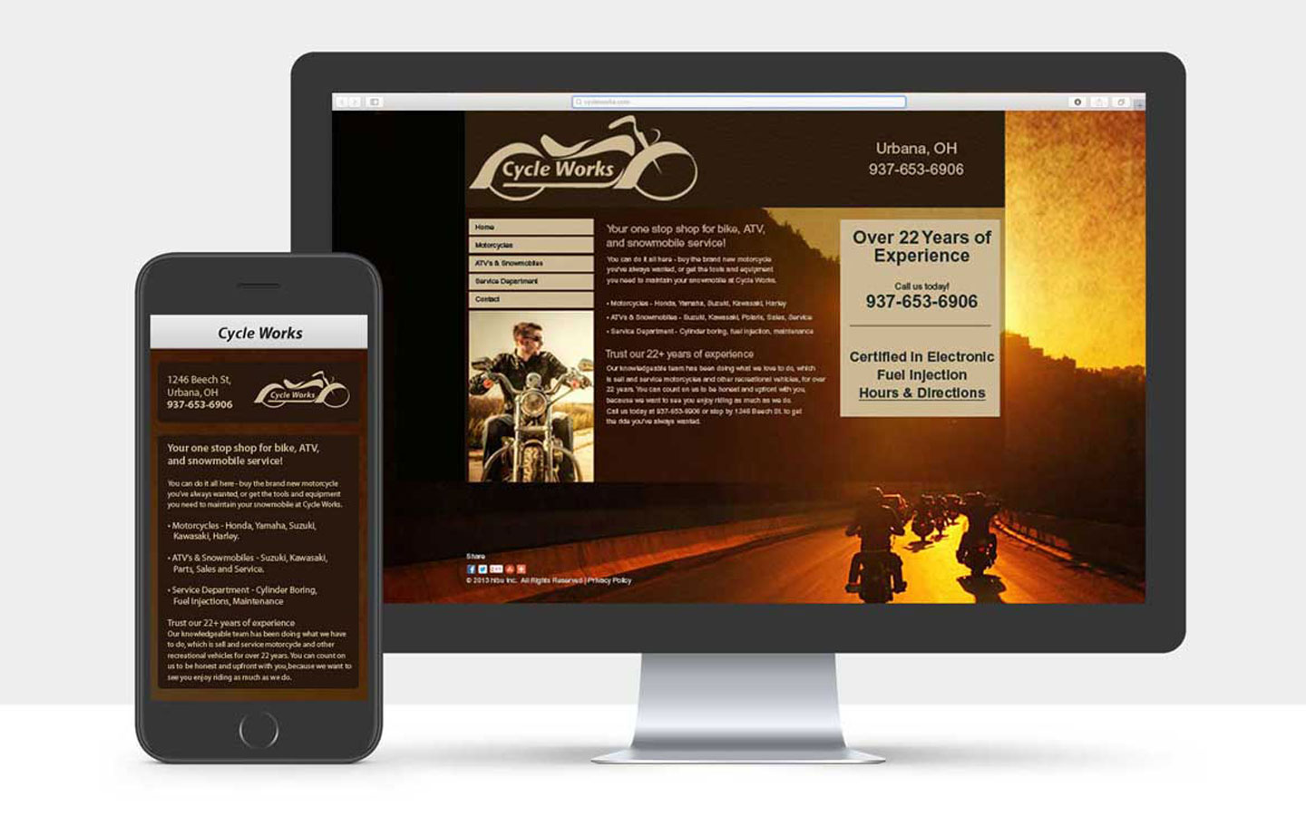 Cycleworks Website and Logo
