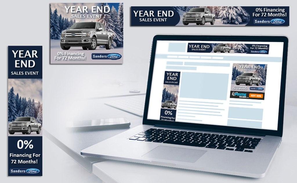 Display Ads for Sanford Ford Dealership
